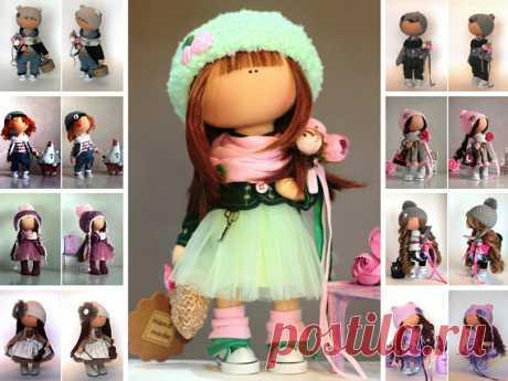 Muñecas Rag Doll Fabric Doll Teen Doll Handmade Doll Green Doll Soft Doll Cloth Doll Baby Doll Tilda Doll Interior Textile Doll by Yulia G Muñecas Rag Doll Fabric Doll Teen Doll Handmade Doll Green Doll Soft Doll Cloth Doll Baby Doll Tilda Doll Interior Textile Doll by Yulia G __________________________________________________________________________________________  Hello, dear visitors!  This is handmade soft doll created by Master Yulia G. (Moscow, Russia). All dolls st...