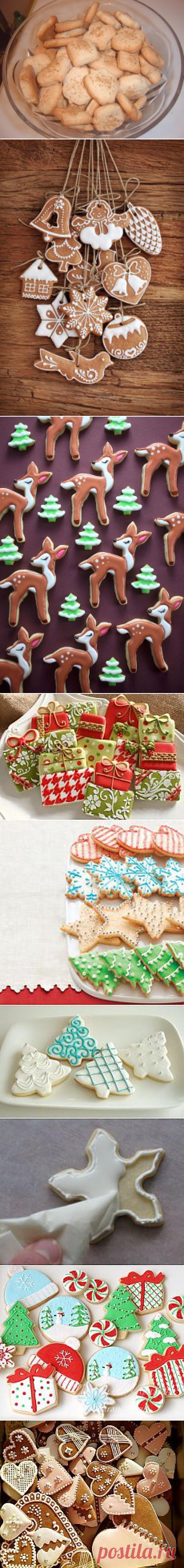 Поиск на Постиле: рождественское печенье