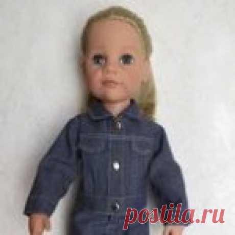 Мастер класс по пошиву джинсовой курточки для куклы - Бэйбики Представляю Вашему вниманию обещанный мастер-класс по пошиву джинсовой курточки для куклы. И так приступим… Выкройка одежды для кукол своими руками