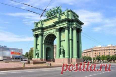 12 самых красивых арок в Петербурге
