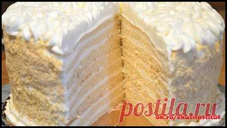 Торт «Milchmädchen» («Молочная девочка»)  Для тех, кто не пробовал еще этот тортик - ну какой же он вкусный! Просто не передать словами! К тому же очень прост и быстр в приготовлении!  Рецепт торта «Milchmädchen» пришел к нам из Германии. Коржи готовятся на основе сгущенного молока, которое в Германии называлось «Milch Mädchen», т.е. молочная девочка.  Ингредиенты:  Тесто:  сгущенка - 1 б ( 400 г) яйца - 2 шт мука - 1 ст. (160 г) разрыхлитель - 1 п. (1 ст.л.)  Крем: сливки...
