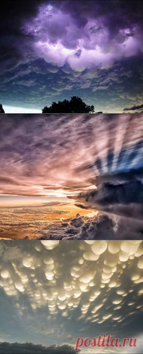 Самое красивое в мире создано природой. Необыкновенно красивые облака
