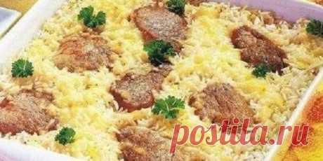 Вкусная и быстрая воздушная рисовая запеканка для всей семьи. - ОБО ВСЁМ Простая и легкая запеканка. Порадуйте своих домашних этой отменной запеканкой. Ингредиенты мясо нежи
