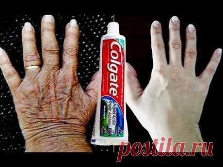 USE 1 Vez e EXPULSE 30 ANOS de MANCHAS e RUGAS Das Mãos! - YouTube