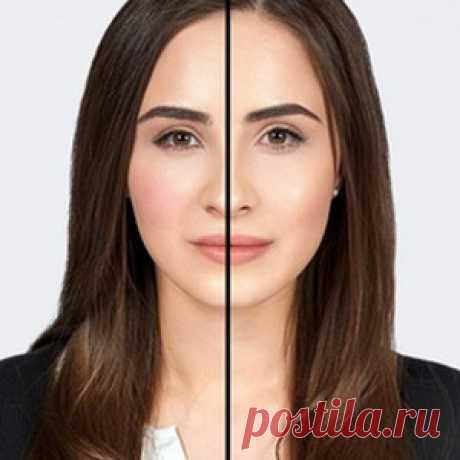Как скульптурировать лицо с помощью румян?   Практика на www.elle.ru