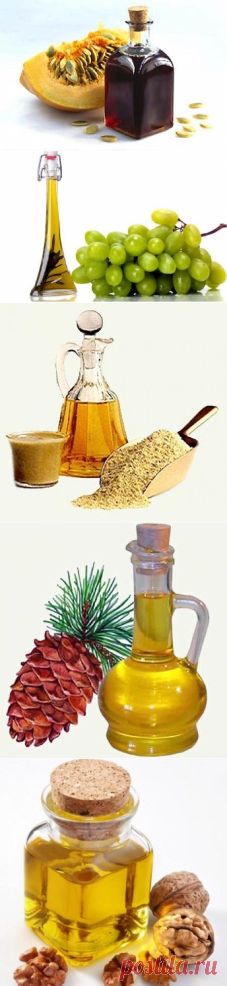 9 масел, которые более всего полезны для здоровья
