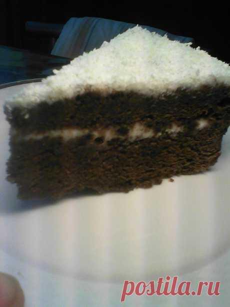 The Siberian bird cherry cake - Mirtesen