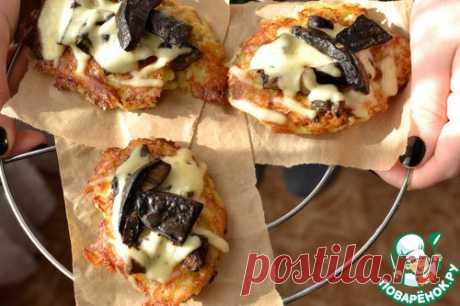 Запеченные картофельные оладьи - кулинарный рецепт