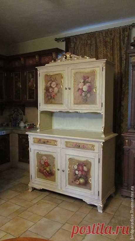 (3727) Pinterest - Купить Буфет антикварный реставрированный расписной.Мебель антикварная. - Мебель, антикварная мебель, реставрация мебели | Painted furniture