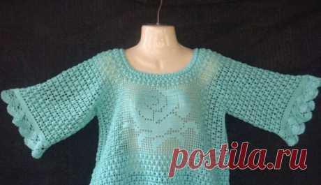 Джемпер, пуловер | Шкатулка рукоделия. Сайт для рукодельниц.