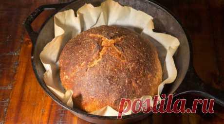 Домашний хлеб в кастрюле: свежеиспеченный хлебушек в кастрюле получится у вас с первого раза