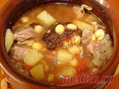 Гороховый суп с мясом в горшочке. Рецепт c фото, мы подскажем, как приготовить!