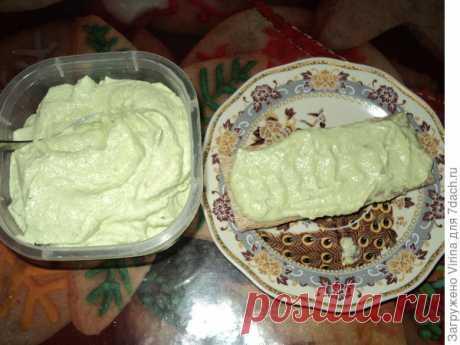 Творожная закуска с огурцом и авокадо. Весеннее диет-меню