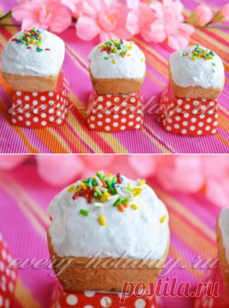 Las mini-roscas de Pascua a la Pascua - la receta de la foto