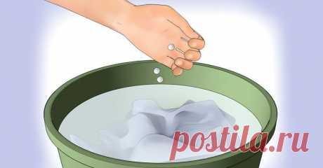 Таблетка аспирина в стиральную машинку — Делимся советами