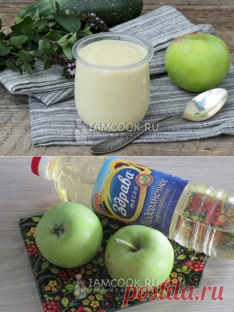 Майонез постный яблочный — рецепт с фото пошагово