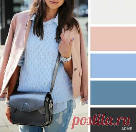 Color combinations in clothes for this spring \/ All for the woman