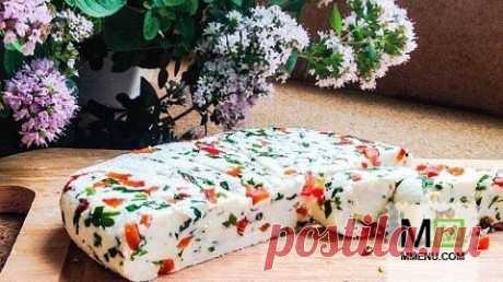 """Домашний сыр """"Паприка"""" - кулинарный рецепт. Миллион Меню"""