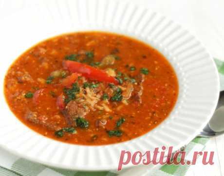 """Настоящий суп """"Харчо"""" - пошаговый рецепт с фото на Повар.ру"""