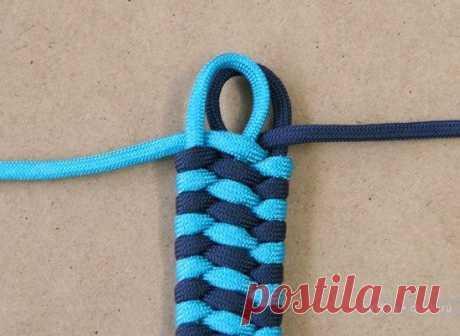 Плетение браслетов из шнурков, макраме / Макраме, схемы плетения для начинающих, фото, изделия / КлуКлу. Рукоделие - бисероплетение, квиллинг, вышивка крестом, вязание