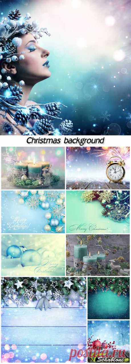 Beautiful shining Christmas backgrounds » ШАБЛОНЫ ДЛЯ ФОТОШОПА