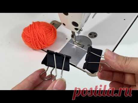 12 отличных советов по шитью, швейные хитрости