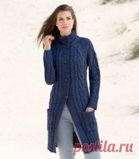 Уютное вязаное пальто 2018: 60 модных оригинальных фасонов для любой фигуры