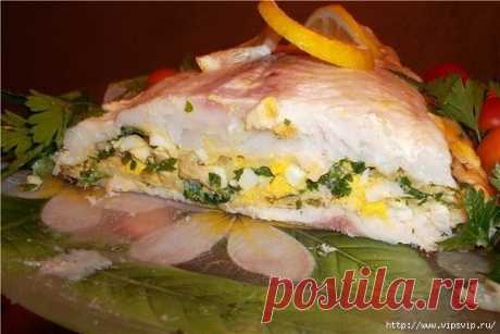 Tasty recipe. The SMALL FISH WITH the SURPRISE