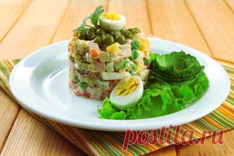 8 салатов с зеленым горошком — отличный способ разнообразить рацион!   Вкусные рецепты