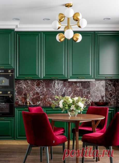 Правила сочетания цветов в интерьере кухни и лучшие решения в дизайне на фото от SALON