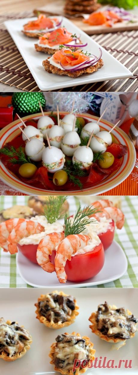 9 аппетитных и оригинальных закусок, которые украсят любой Новогодний стол — Вкусные рецепты