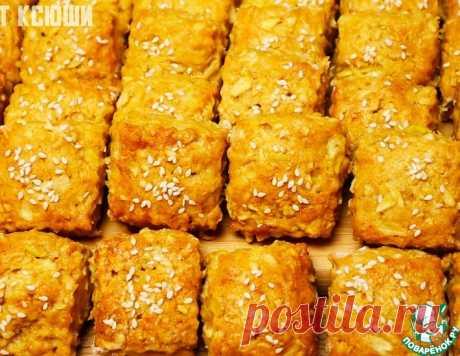 Постное яблочное печенье – кулинарный рецепт