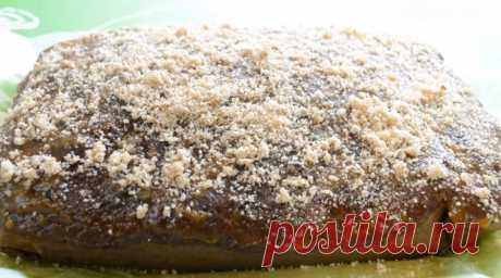 Сочный пирог с вареньем «Негр в пене» - СУПЕР ШЕФ