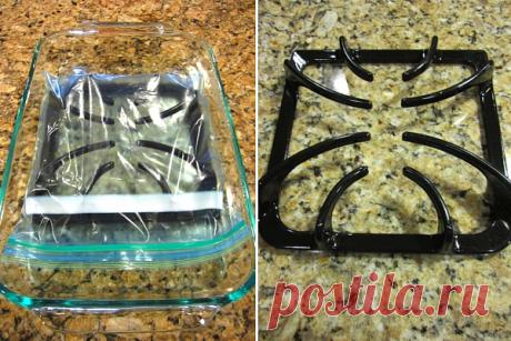 Как без труда очистит решетку плиты? — Полезные советы