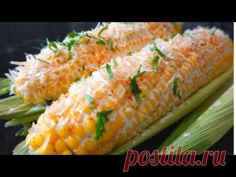 Вкусная кукуруза по-мексикански. Готовим сладкую кукурузу в початках. - YouTube Сегодня готовим супер вкусную кукурузу по-мексикански. Продукты простые, а какая красота и вкуснота получается не передать словами! Настоятельно советую приготовить !