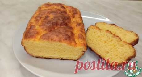 Сырный хлеб без дрожжей Кулинарный рецепт