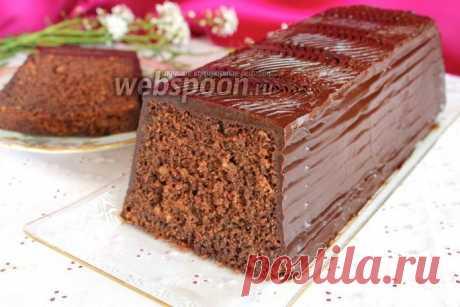 Шоколадный кекс на минералке - это восхитительно вкусно!