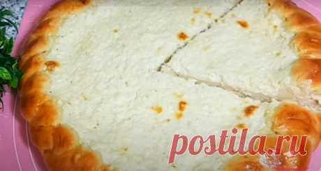 Простой творожный пирог к чаю - Лучший сайт кулинарии