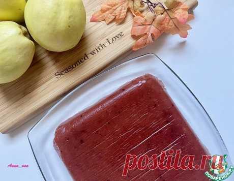 Айвовый мармелад – кулинарный рецепт
