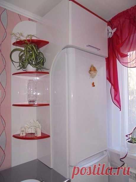 Как удачно вписать холодильник — Pro ремонт