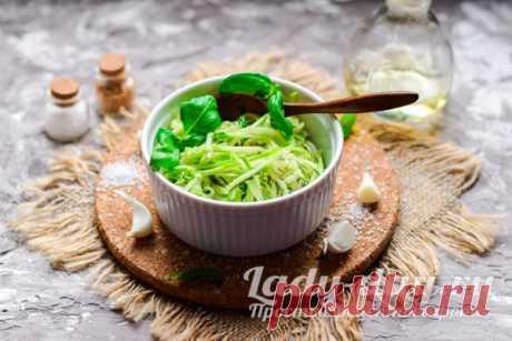 Салат из свежих кабачков, рецепт быстро и вкусно с фото | Простые рецепты с фото