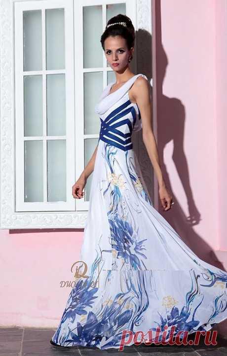 Платье  Арт № Sdk 13 Размер: S,  M,  L,  XL, 2XL Ткань: Шелк , Сатин