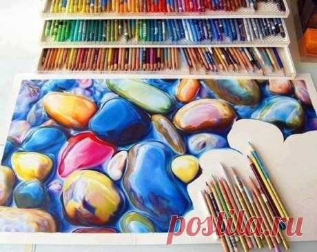 Рисунок карандашами