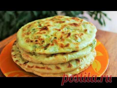 КАРТОФЕЛЬНЫЕ ЛЕПЕШКИ постные с зеленью на сковороде! Potato tortillas!
