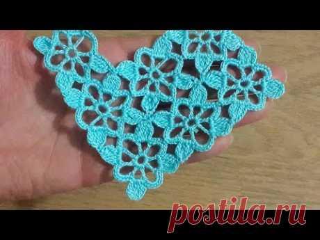 Tığişi Örgü Dantel Motifi Anlatımı & Crochet
