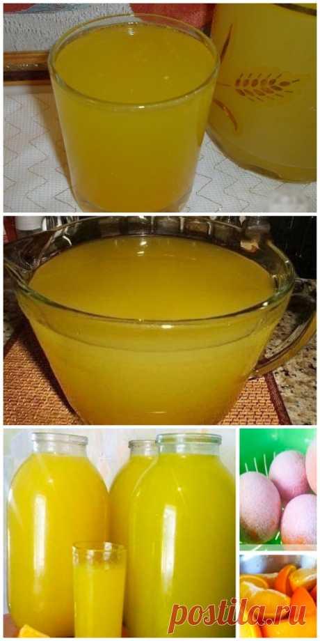 Освежающий домашний лимонад, натуральный без всякой химии и красителей.