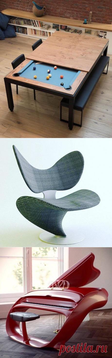 Дизайн будущего: вещи, словно прибывшие из следующего тысячелетия | В темпі життя