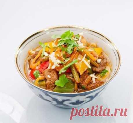 Как приготовить лагман по-узбекски - рецепт, ингредиенты и фотографии