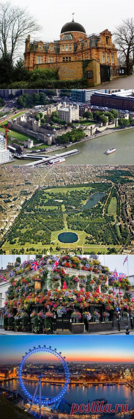 10 Чудес Лондона.