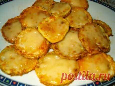 Лучшие кулинарные рецепты: Кабачки с сыром